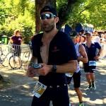 IM Frankfurt - Oli Bungert auf der Marathonstrecke